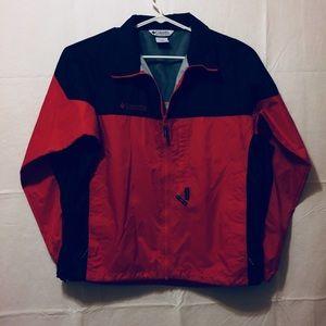 Columbia ultralight packable hood full zip jacket